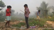 Walhi: Masyarakat Adat Masih Disalahkan Jadi Pemicu Karhutla