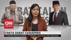 Fakta Debat Cawapres