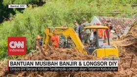 Bantuan Musibah Banjir & Longsor di DIY