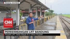 Perkembangan LRT Bandung