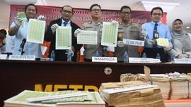 Polisi Ungkap Pemalsuan Materai Rugikan Negara Rp30 Miliar