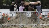 Tidak seluruh jasad korban akan dimakamkan di Christchurch karena sebagian keluarga memilih memulangkannya ke negara asal. (REUTERS/Jorge Silva)