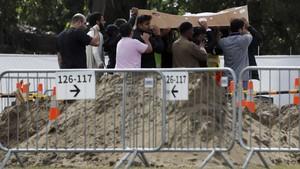 FOTO: Peristirahatan Terakhir Korban Teror di Selandia Baru