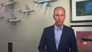 VIDEO: CEO Boeing Sesalkan Larangan Terbang 737 MAX