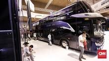 FOTO: Melihat Calon Bus Listrik Transportasi Jakarta