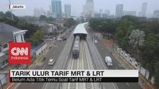 Tarik Ulur Tarif MRT & LRT