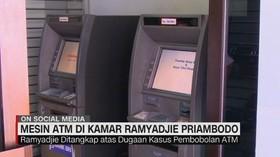 Mesin ATM di Kamar Ramyadjie Priambodo