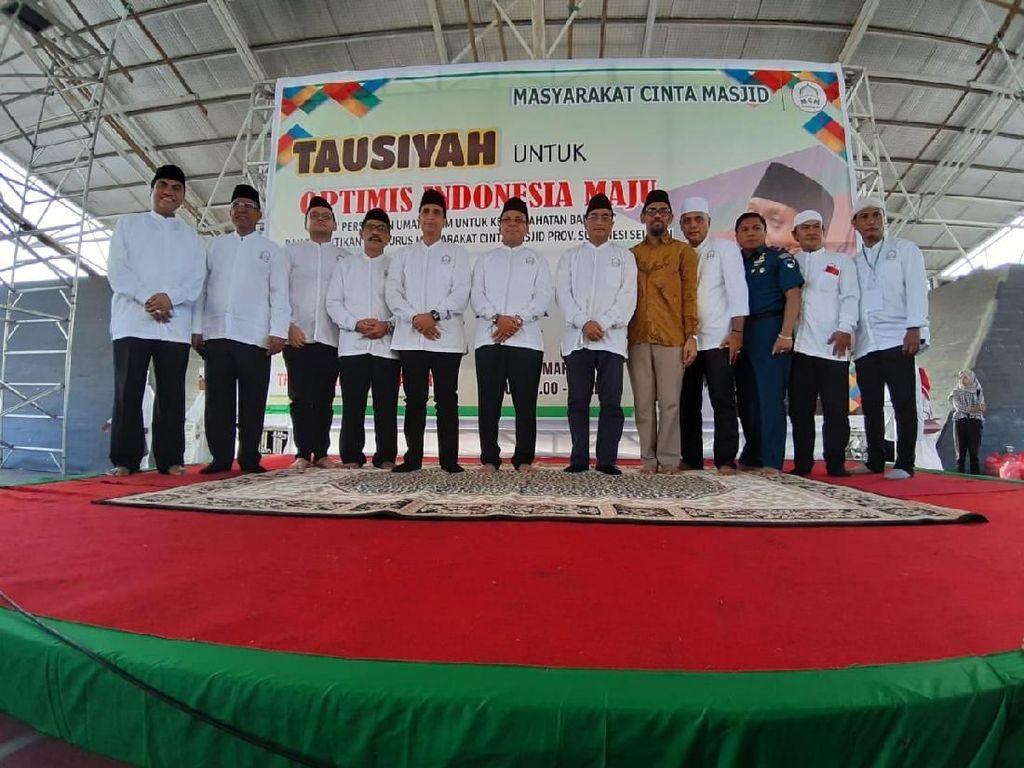 Ketua Dewan Pembina MCM, Budi Karya Sumadi, terus mengajak dan menyebarkan kebaikan dan pesan damai. Melalui gerakan tersebut, ia berharap rumah-rumah ibadah seperti masjid digunakan juga untuk menyebarkan rasa cinta terhadap Tanah Air. Istimewa.