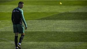 FOTO: Latihan Perdana Ronaldo Usai Sembilan Bulan Absen