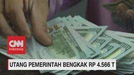 Utang Pemerintah Membengkak Rp. 4.566 T