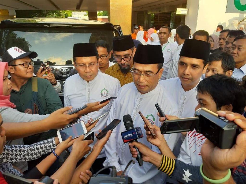 Jelang Pemilu 2019, pihaknya meminta agar fungsi masjid sebagai sarana ibadah tidak dijadikan tempat memobilisasi umat untuk kepentingan salah satu capres yang dapat menimbilkan potensi memecah belah umat. Istimewa.