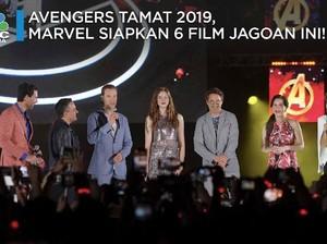 Avengers Tamat, Marvel Rilis Jadwal Tayang 6 Film Jagoan