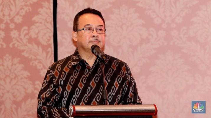 Rhenald Kasali (CNBC Indonesia/Muhammad Sabki)