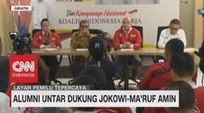 Alumni Untar Dukung Jokowi-Ma'ruf Amin