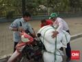 Timnas Indonesia U-23 Tolong Pengemudi Ojek Online di Vietnam