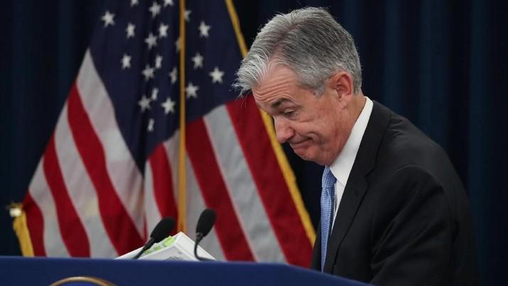 Inflasi AS Rendah, The Fed Putuskan Tahan Suku Bunga