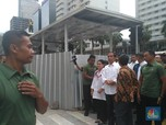 Jam Padat, Jokowi Naik TransJakarta & MRT ke Istora