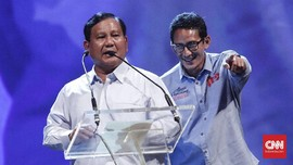 Prabowo dan Sandi Disebut Kampanye Bareng Hanya di Empat Kota