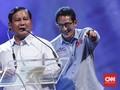 Prabowo-Sandi Tiba di MPR Hadiri Pelantikan Jokowi-Ma'ruf