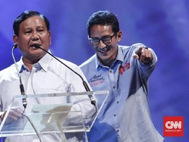 Prabowo Akan Umumkan Sandiaga Uno dan Sikap Partai Hari Ini