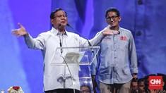 BPN: Kampanye Prabowo-Sandi Kental Campur Tangan Langit