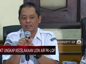 KNKT: Hasil Investigasi Lion Air PK-LQP Diumumkan Agustus