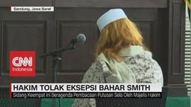 Hakim Tolak Eksepsi Bahar Smith