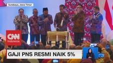 Gaji PNS Resmi Naik 5%