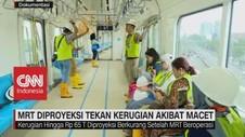 MRT Diproyeksi Tekan Kerugian Akibat Macet