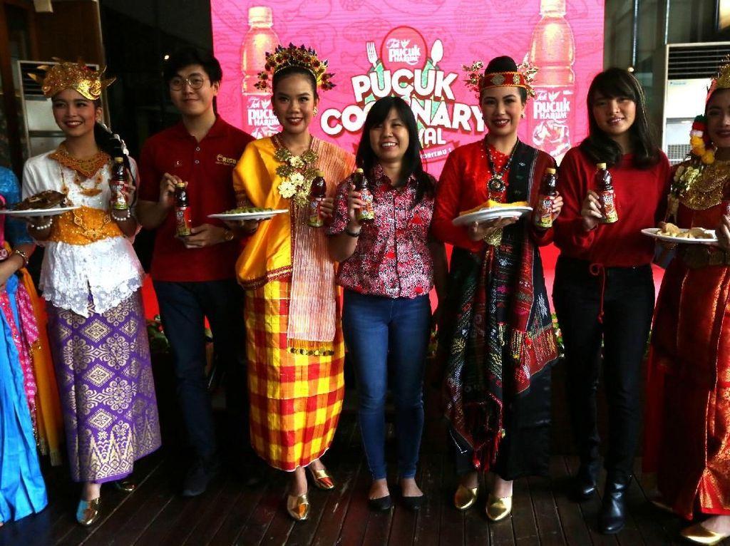 Event ini akan memanjakan lidah para foodies dengan berbagai sajian kuliner favorit dari Yogyakarta, Palembang, Medan, Makassar dan Denpasar.