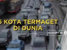 Daftar Kota Termacet di Dunia, Jakarta Nomor Berapa?