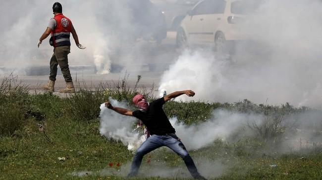 Insiden ini menambah panjang daftar warga Palestina yang tewas di tangan tentara Israel di wilayah konflik seperti Tepi Barat dan Jalur Gaza. (Reuters/Mohamad Torokman)