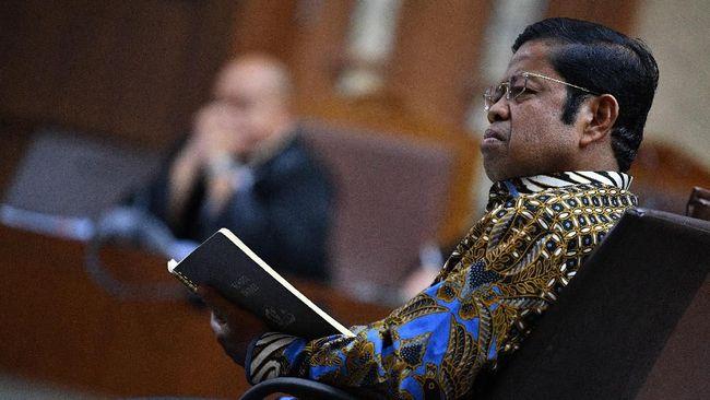 Hakim Mudik Mencoblos, Sidang Vonis Idrus Marham Ditunda
