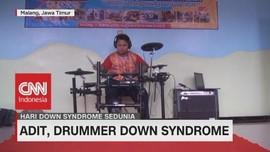 Kiprah Adit, Drummer Hebat Penderita Down Syndrome