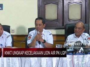 KNKT: Benar ada Pilot Ketiga di Kokpit Pesawat Lion Air