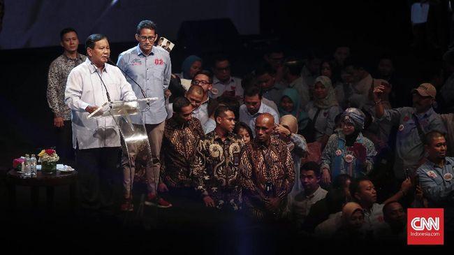 Prabowo Tolak Hasil Rekapitulasi 'Senyap' KPU