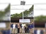 Benderang, Lampu Tenaga Surya Terangi 28 Km Jalanan Cirebon