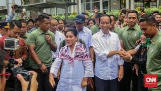 Jokowi Naik Transjakarta dari Monas ke Bundaran HI