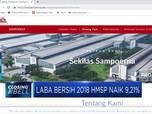 Laba Bersih 2018 HMSP Naik 9,21%