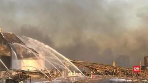 VIDEO: Ledakan Pabrik Kimia China Menimbulkan Gempa Kecil
