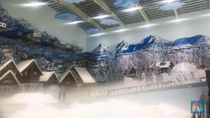 Mulai tanggal 25 Maret 2019, Warga Indonesia dan Bekasi Khususnya akan bisa menikmati wisata salju yang turun sepanjang tahun di Trans Snow World.