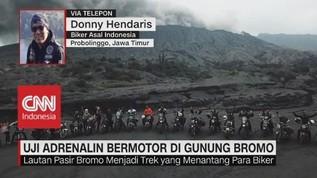 Uji Adrenalin Bermotor di Gunung Bromo
