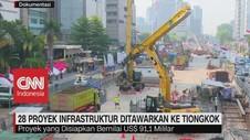 28 Proyek Infrastruktur Indonesia Ditawarkan Ke Tiongkok