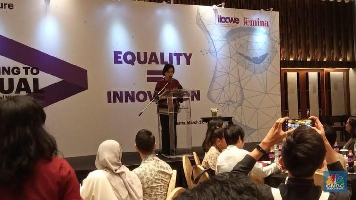 Sri Mulyani: Kesetaraan Gender Bikin Dunia Untung US$ 12 T