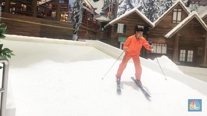 Pilihan aktivitas untuk menghabiskan waktu bersama keluarga di akhir pekan semakin bertambah dengan hadirnya Trans Snow World.
