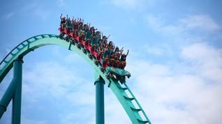 Roller Coaster Tak Berhenti Meluncur, Empat Anak Jadi Korban