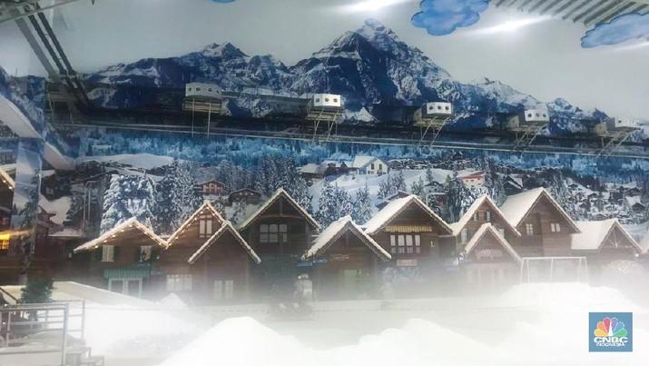 Wahana Salju Hadir Di Trans Snow World Bekasi