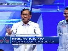 Prabowo Kuak Kriteria Calon Menteri