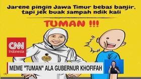 Meme 'Tuman' Ala Gubernur Khofifah