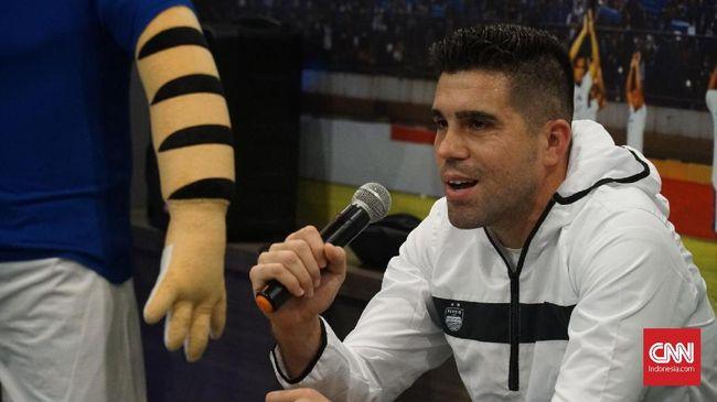 Manajemen Persib Sisihkan Faktor Usia Uzur Fabiano Beltrame